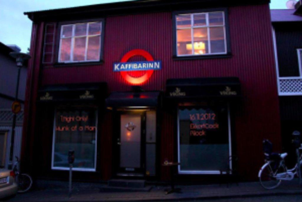 <figcaption>Coole Bar: Das Kaffibarinn in Reykjavik</figcaption>
