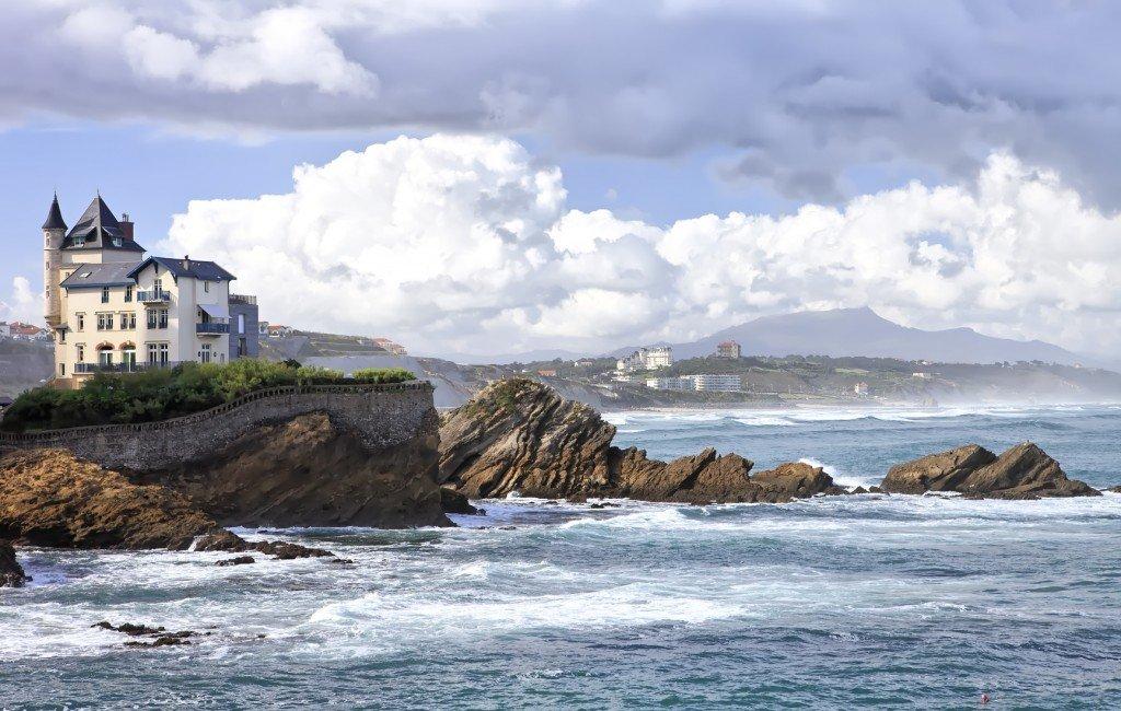 <figcaption>Ein Ort, um das Leben zu genießen: Biarritz</figcaption>