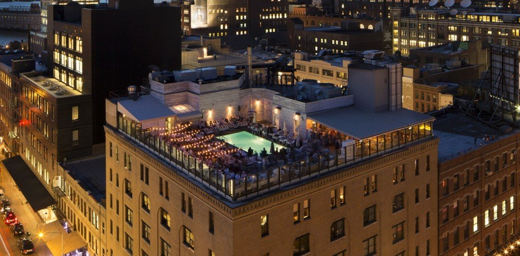 <figcaption>Legendär: das Soho House in New York</figcaption>
