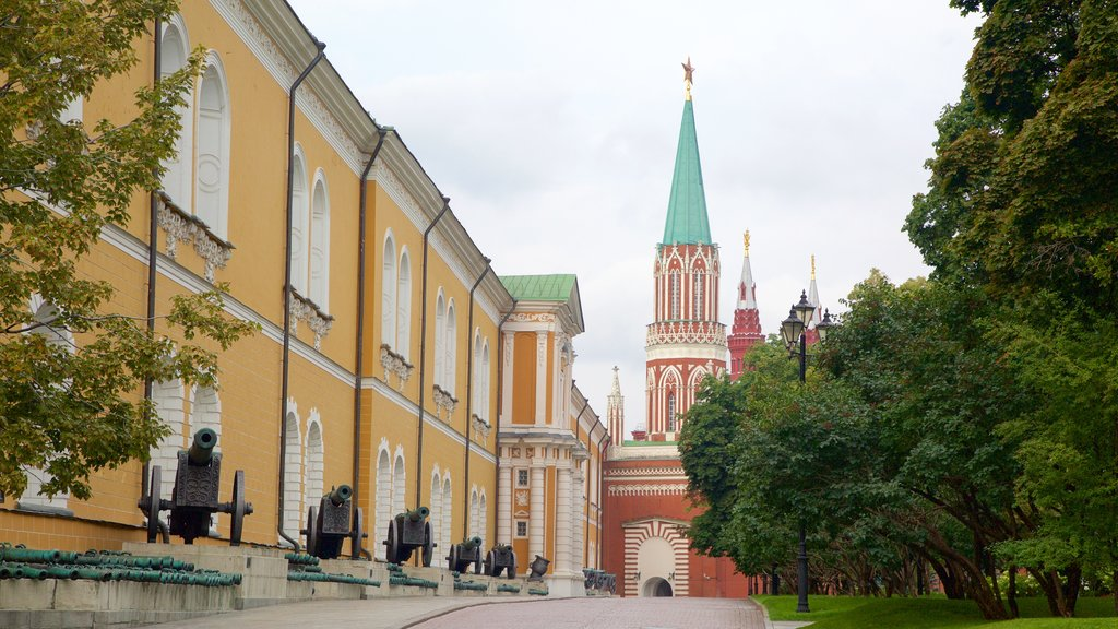 Moscow Kremlin featuring heritage architecture