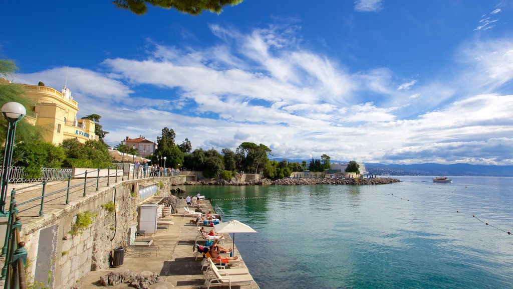 Opatija featuring general coastal views