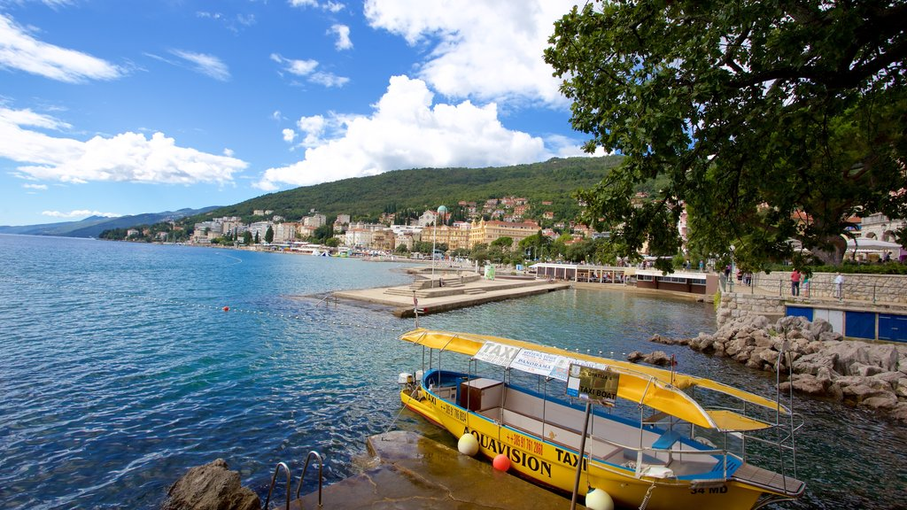 Opatija showing general coastal views