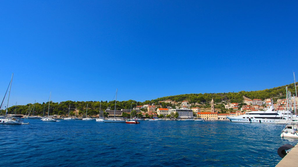 Hvar featuring general coastal views
