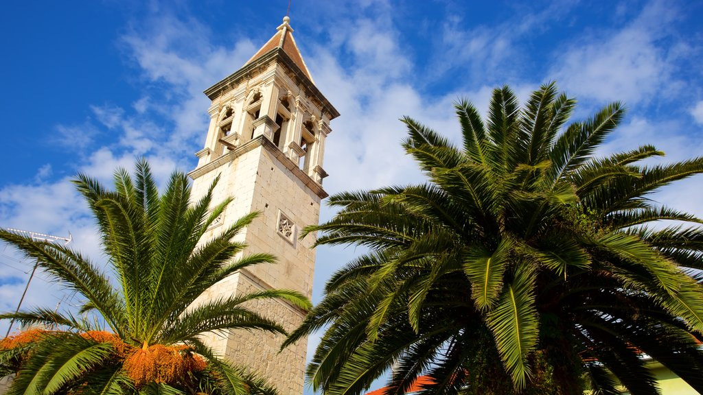 Trogir featuring heritage elements