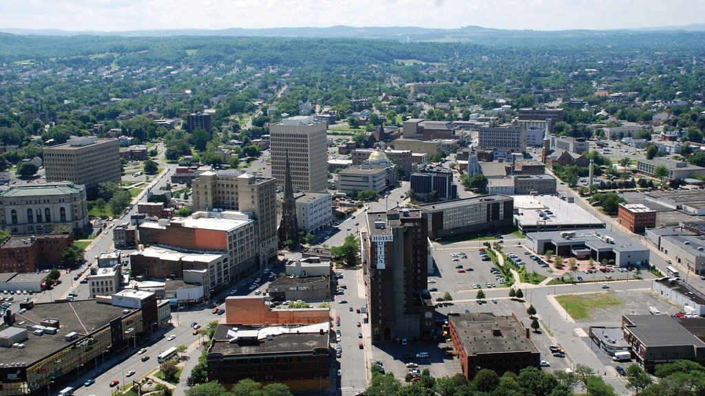 Utica featuring a city