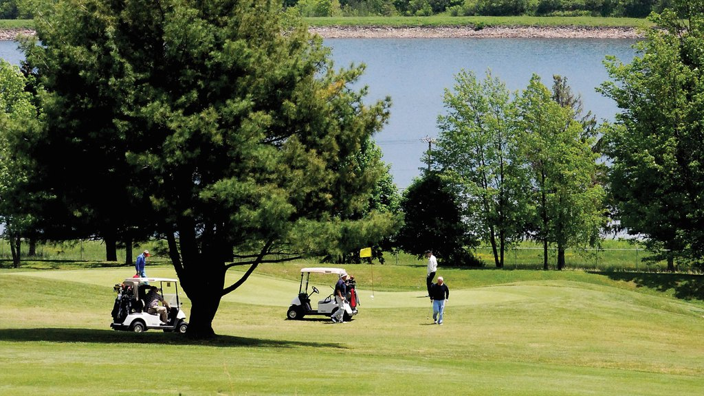 Utica which includes golf as well as a small group of people