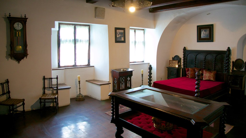 Bran Castle which includes interior views and chateau or palace