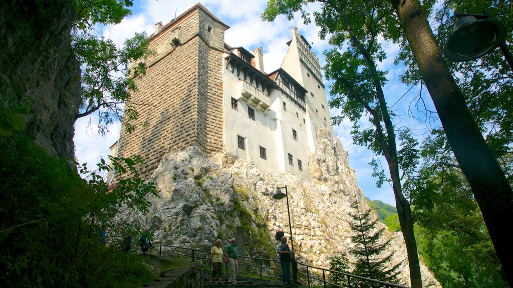 Bran Castle showing heritage architecture and chateau or palace