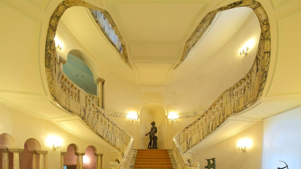 National Museum of Art of Romania featuring interior views and heritage architecture