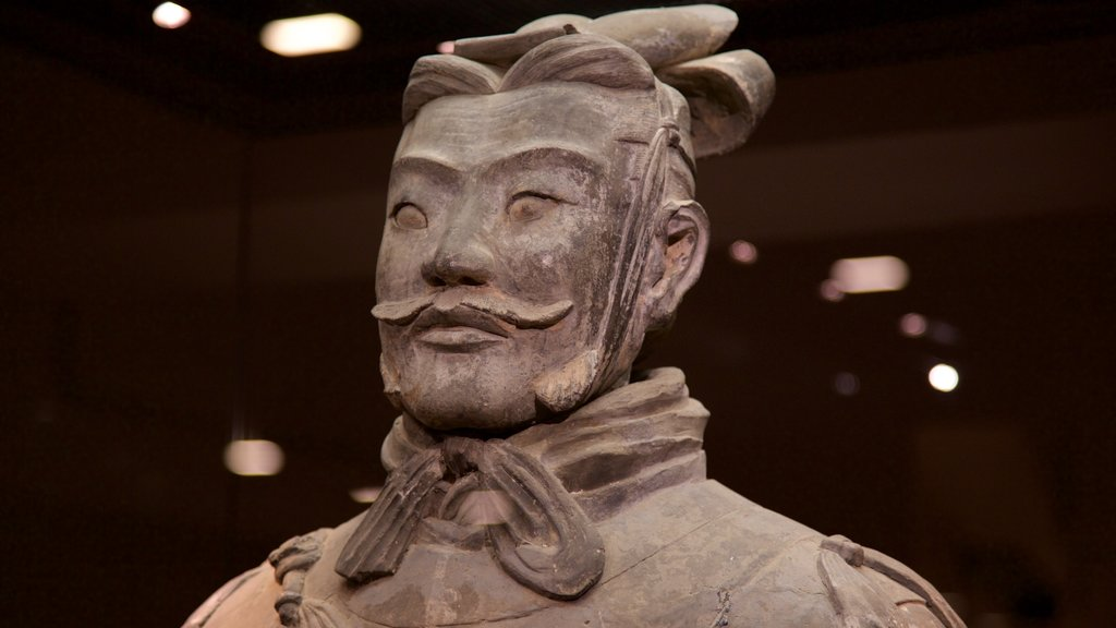 Terracota Army featuring a statue or sculpture