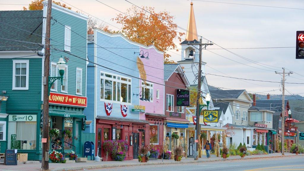North Conway ofreciendo escenas urbanas