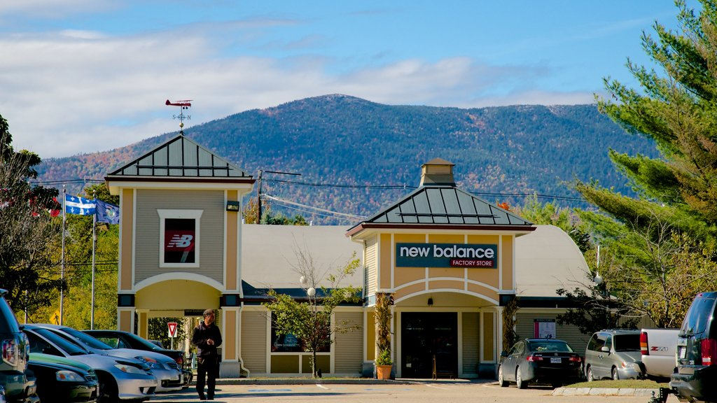 North Conway which includes shopping