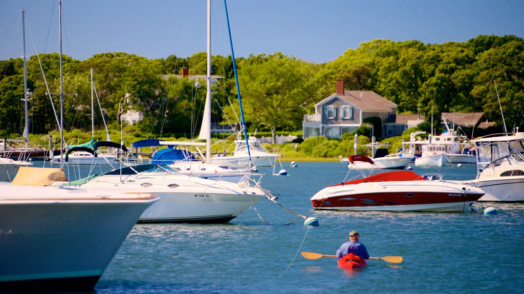 Falmouth which includes boating, kayaking or canoeing and a bay or harbor