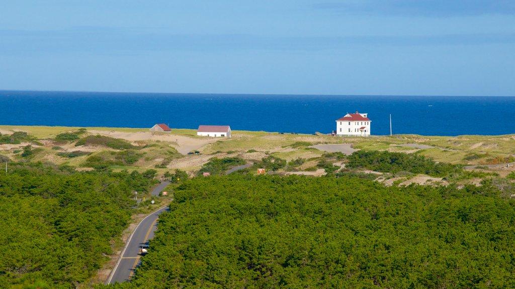 Cape Cod National Seashore which includes general coastal views