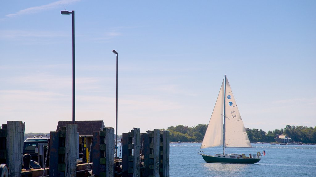 Woods Hole featuring sailing