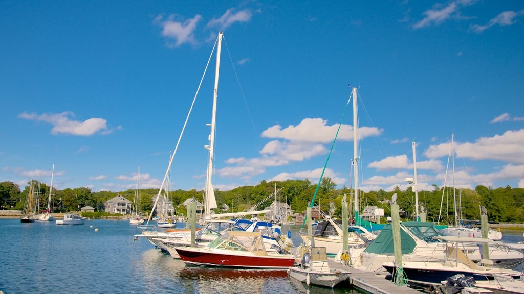 Woods Hole showing sailing