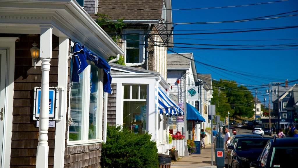 Woods Hole which includes a small town or village