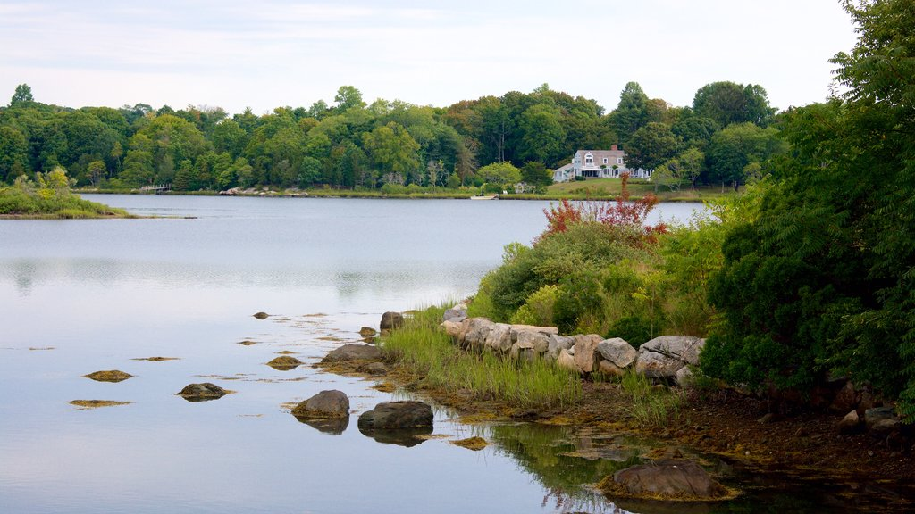 Stonington which includes a river or creek
