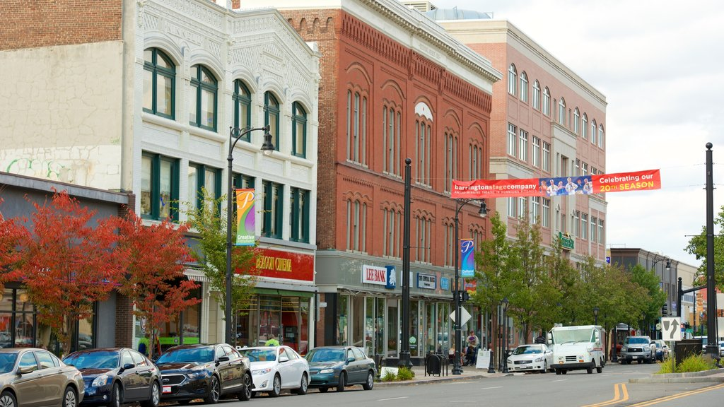 Pittsfield showing street scenes