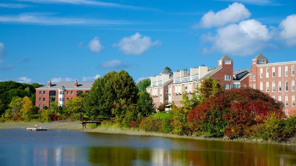 Exeter featuring industrial elements and a river or creek
