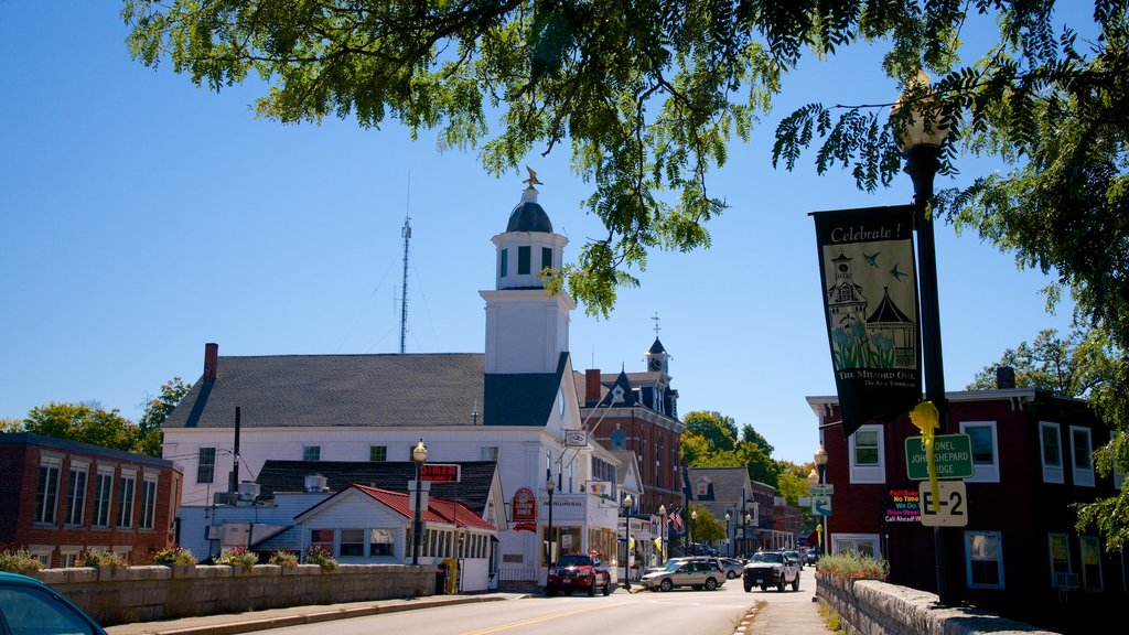 New Hampshire featuring a small town or village