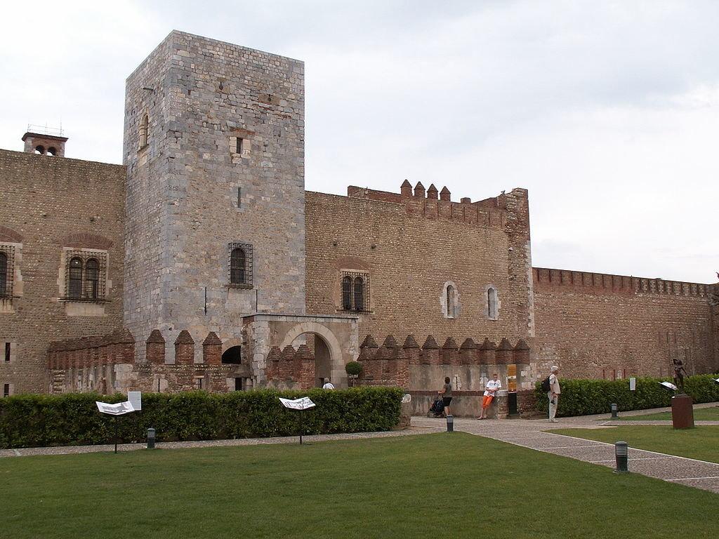 Perpignan Palais des Rois de Majorque Chourmo sous licence CC BY SA 3.0.JPG