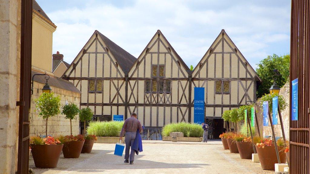 Chartres y también un hombre