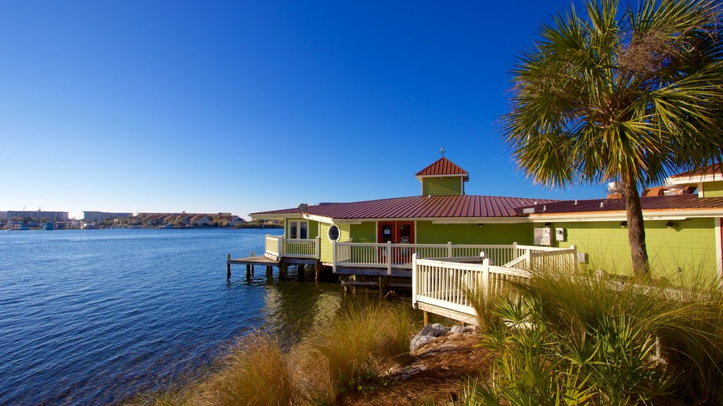 Fort Walton Beach featuring a house and general coastal views