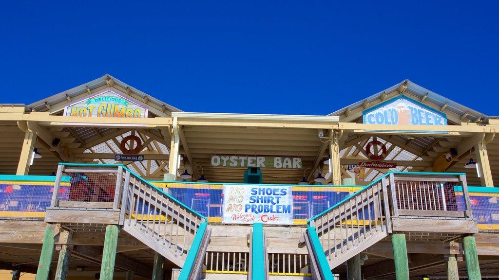 Okaloosa Island showing a bar