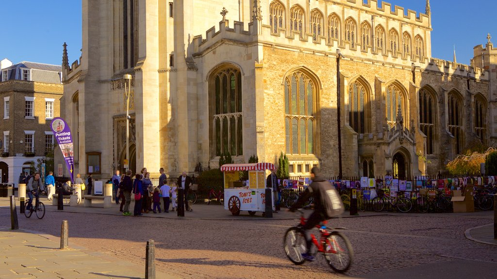 Cambridge which includes heritage elements and heritage architecture as well as an individual male