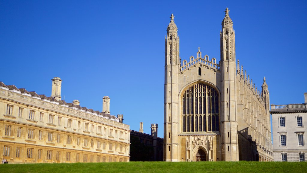 King\'s College Chapel which includes heritage elements, heritage architecture and a church or cathedral