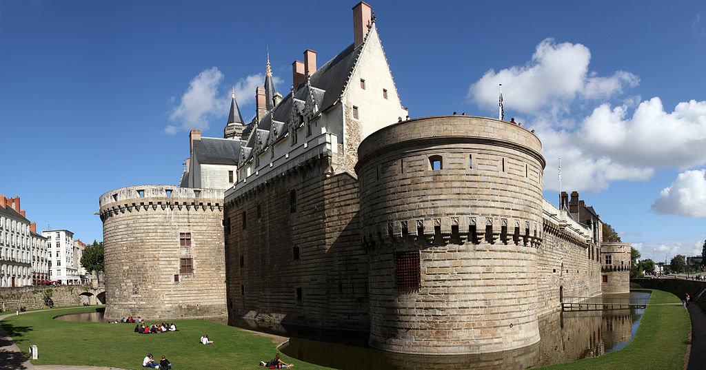 Nantes Château des Ducs de Bretagne Ludovic Toinel sous licence CC BY Sa 3.0.jpg