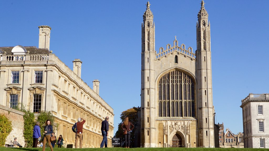 King\'s College Chapel featuring heritage architecture, a church or cathedral and heritage elements