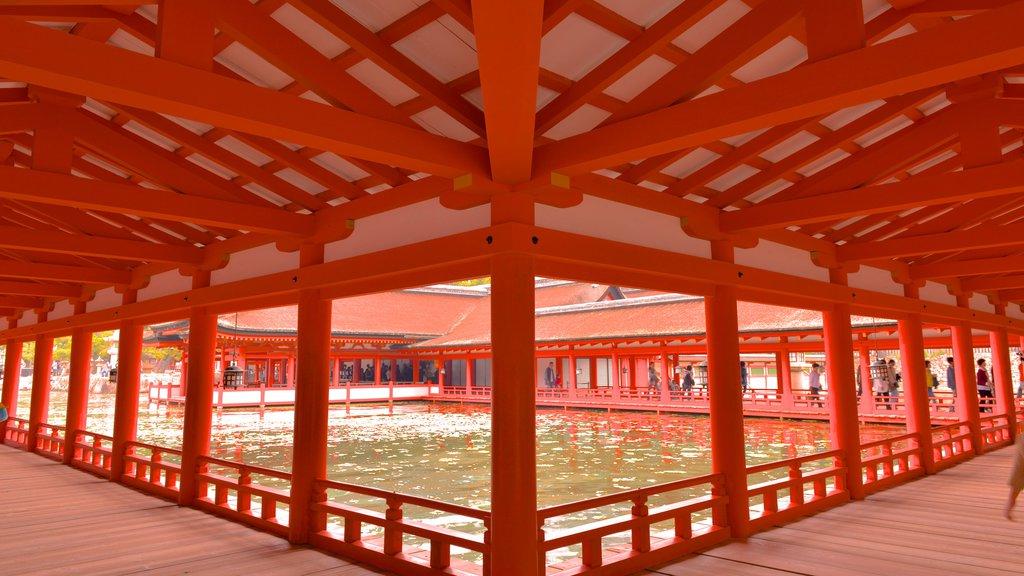 Itsukushima Shrine showing heritage elements