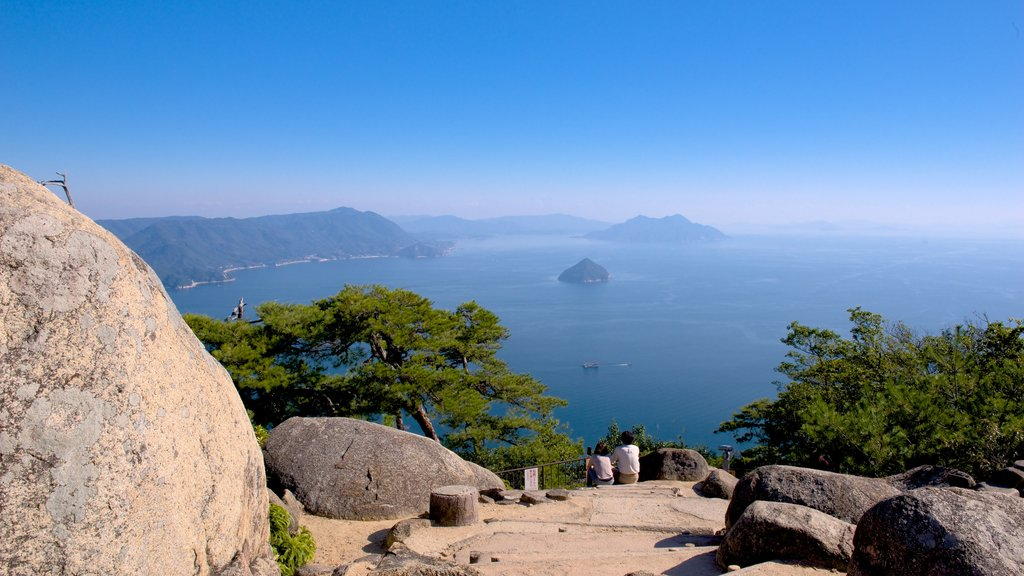 Japan which includes general coastal views and views
