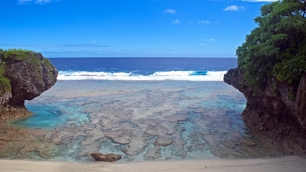Tamakautoga featuring colorful reefs