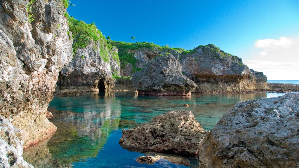 Limu featuring rocky coastline and colorful reefs