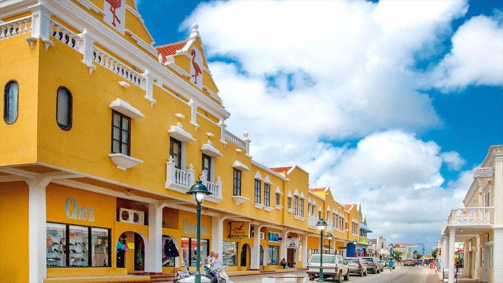 Bonaire mostrando escenas urbanas