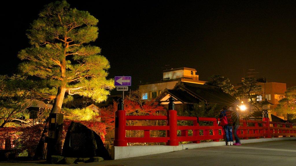 Takayama featuring night scenes