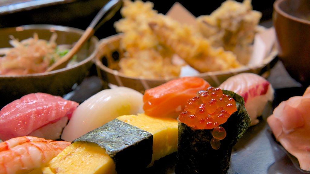 Takayama featuring food