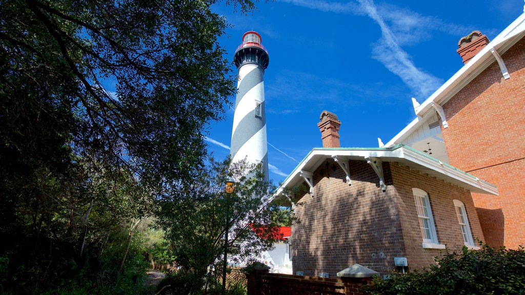 St. Augustine Lighthouse and Museum featuring a lighthouse