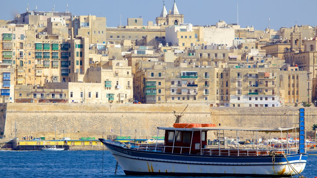 Sliema featuring boating