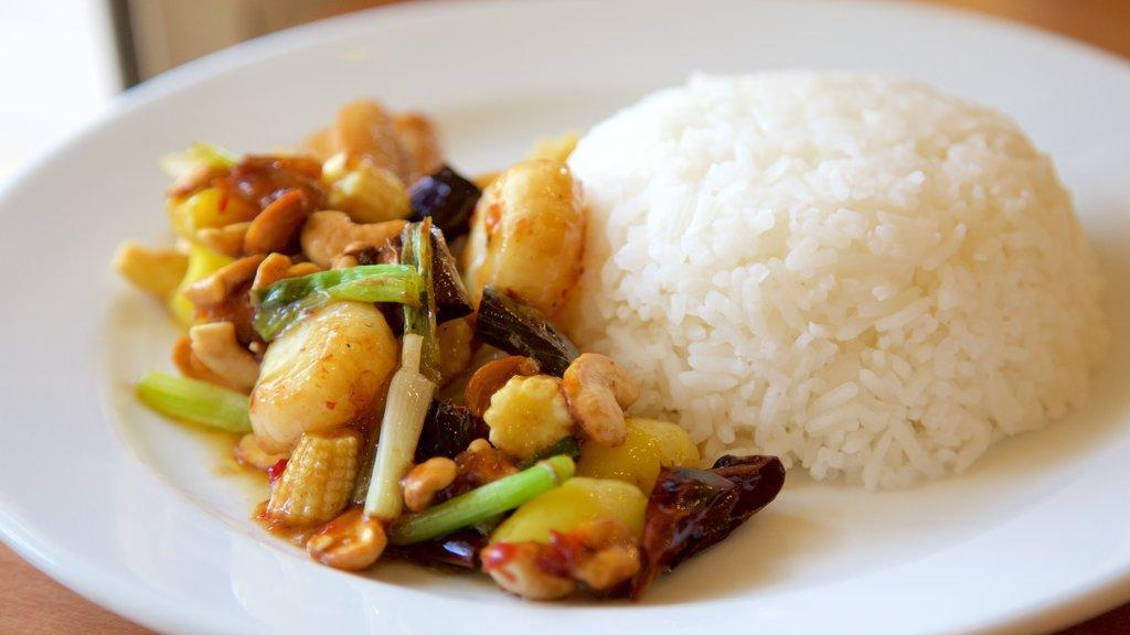 Bangkok featuring food