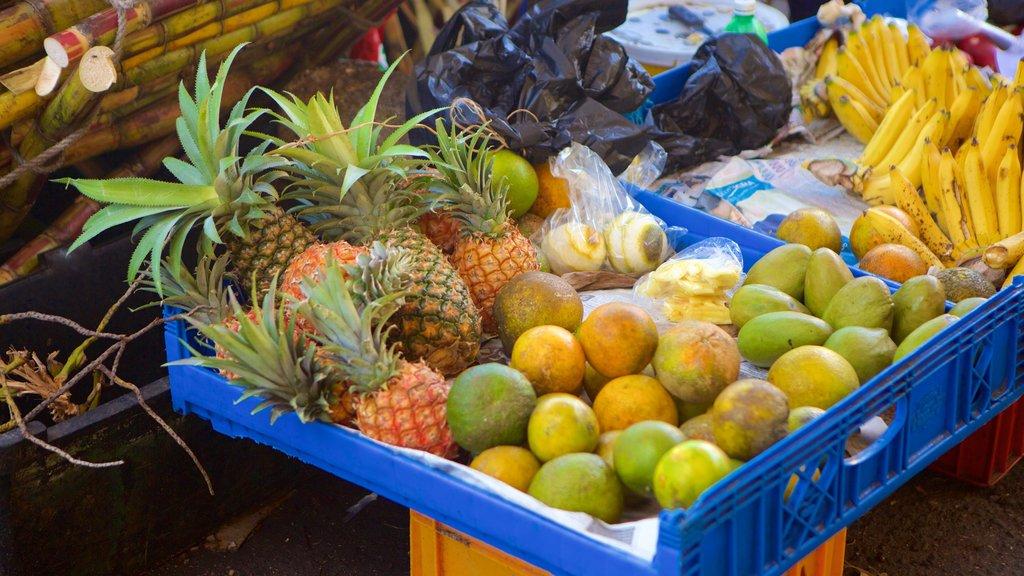 Montego Bay showing food