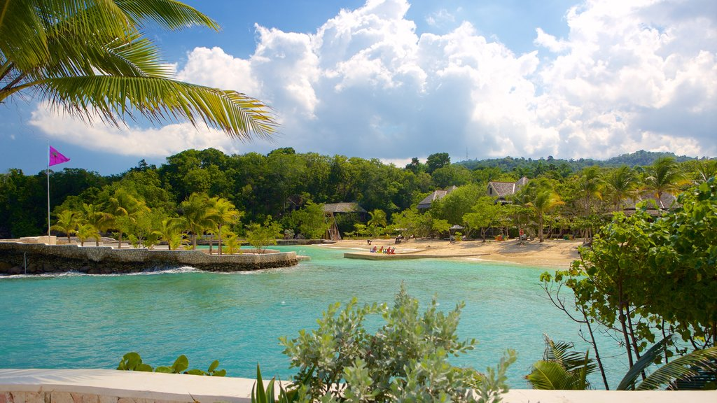 Boscobel featuring tropical scenes, a beach and views