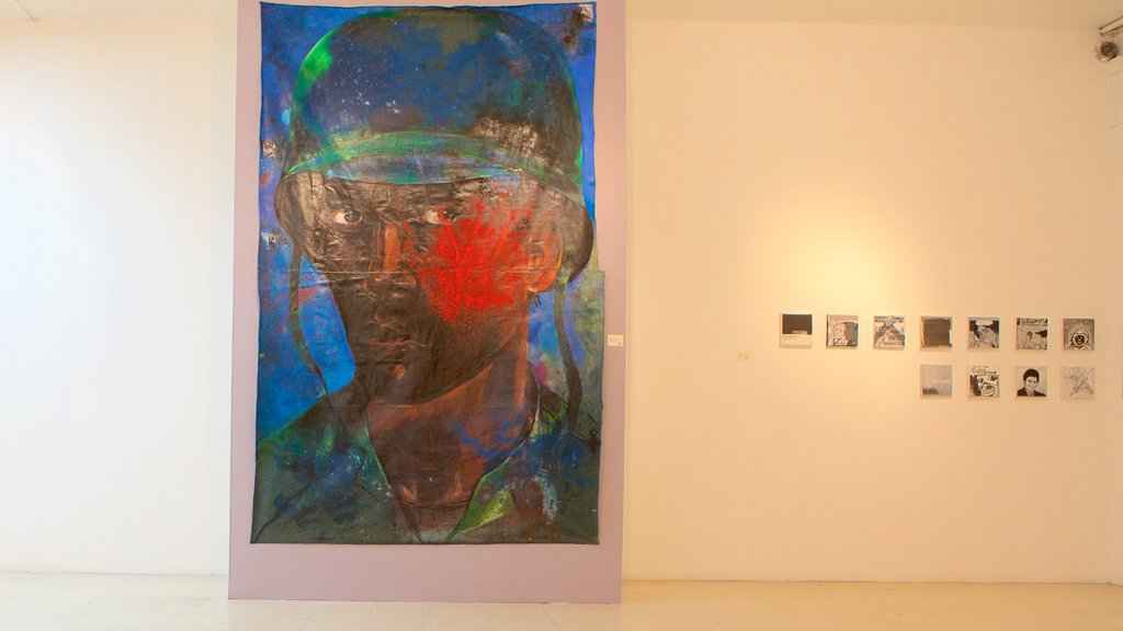 National Gallery of Jamaica featuring art