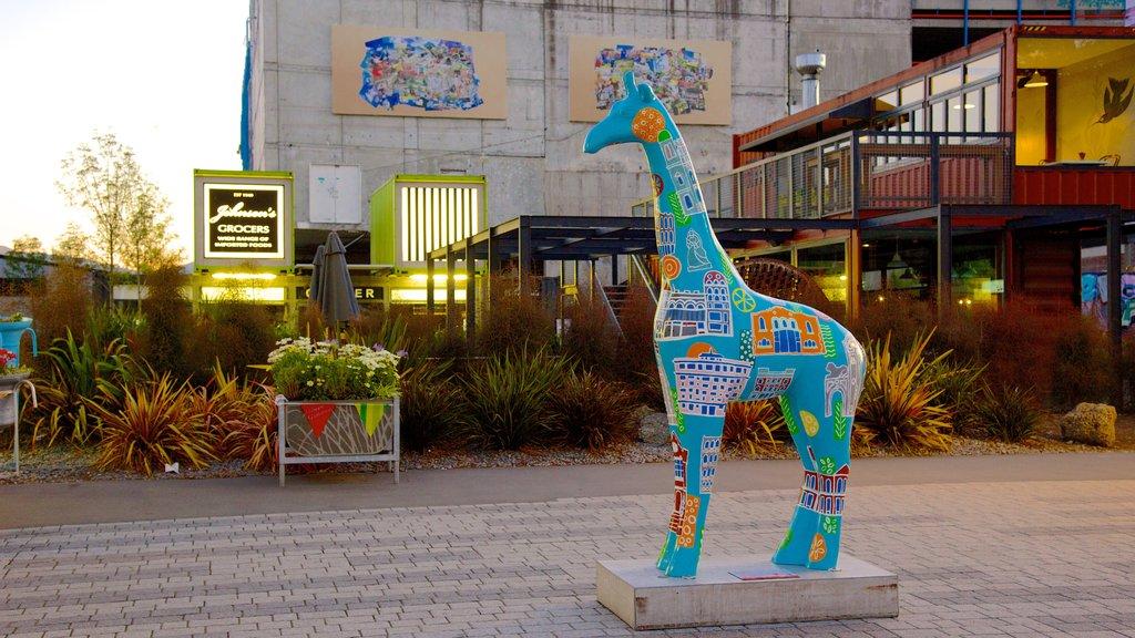Christchurch showing outdoor art