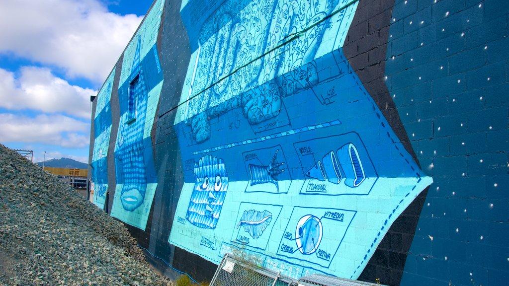 Christchurch ofreciendo arte al aire libre
