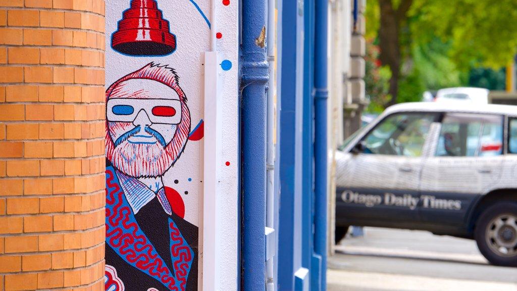 Dunedin ofreciendo arte al aire libre