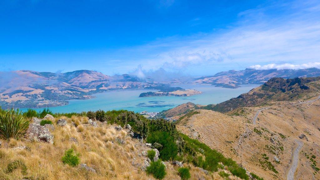 Teleférico de Christchurch que incluye montañas
